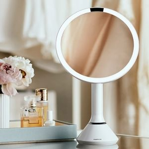 Simple Human Makeup Mirror (Magnifying)